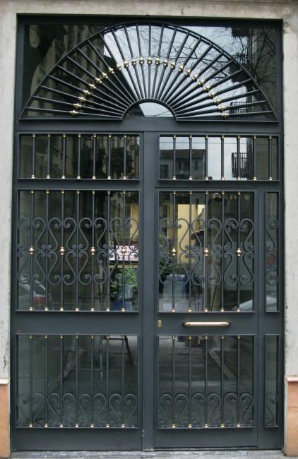 Conosciuto Portoni D Ingresso In Ferro ~ Idea del Concetto di Interior Design  SZ26