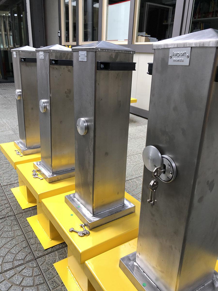Dissuasori mobili fissi automatici blindati manuali for Ferport monza